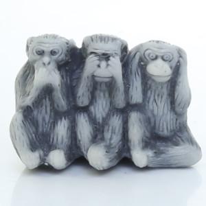 Три обезьянки / магнит
