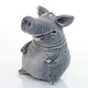 Свинья сидит (авторск.)