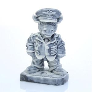 Бык - Полковник (шарж)