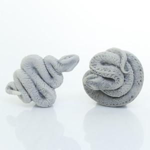 Змейка с плоским дном (2 вида) / магнит