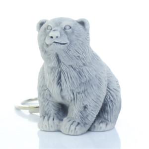 Медвежонок сидит / брелок