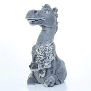 Конь с букетом (шарж)