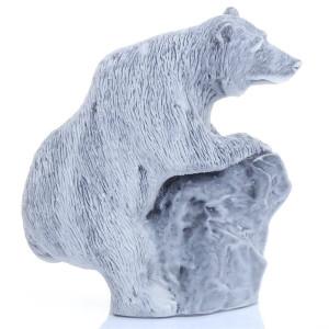 Медведь бурый на камне