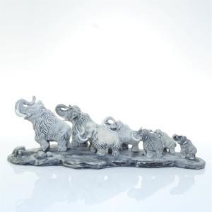 Семь мамонтов на подставке v.2