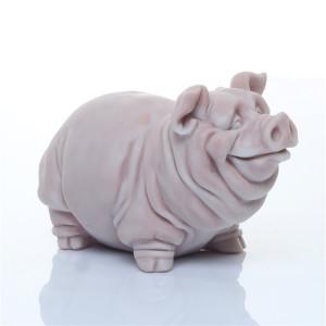 Свин стоит (шарж)