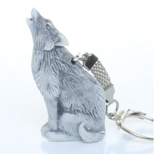 Волк воет (барельеф) / брелок