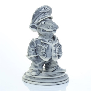 Крыс - Полковник (шарж)